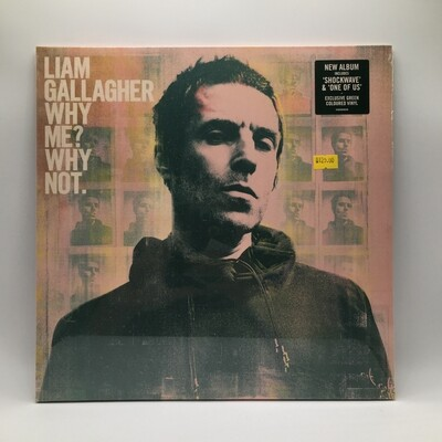 LIAM GALLAGHER -WHY ME ? WHY NOT- LP (COLOR VINYL)