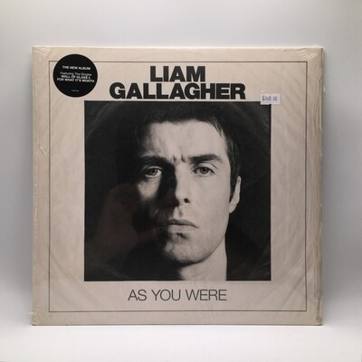 LIAM GALLAGHER -AS YOU WERE- LP (180 GRAM VINYL)