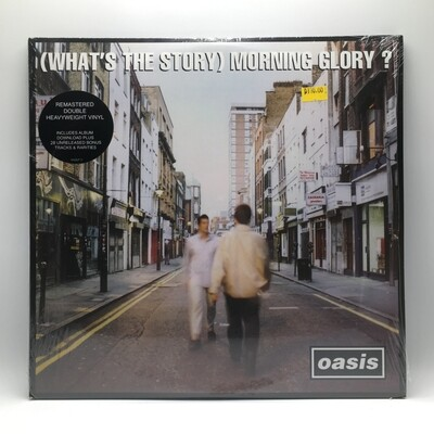 OASIS -(WHAT'S THE STORY) MORNING GLORY?- 2XLP (180 GRAM VINYL)