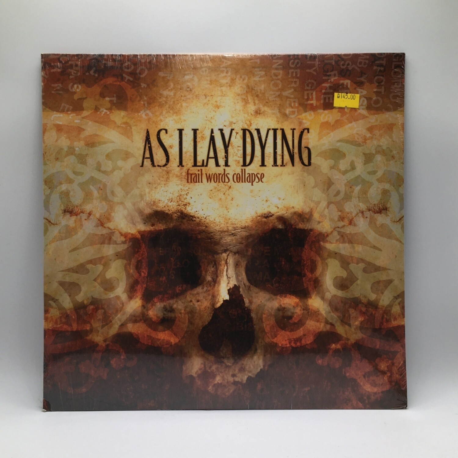 AS I LAY DYING -FRAIL WORDS COLLAPSE- LP (COLOR VINYL)