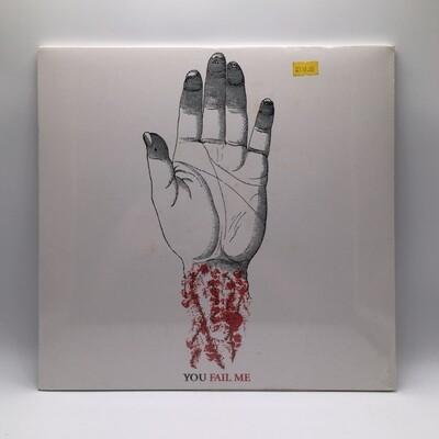 CONVERGE -YOU FAIL ME- LP (WHITE VINYL)