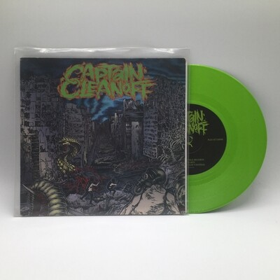 CAPTAIN CLEAN OFF / THE KILL -SPLIT- 7 INCH (GREEN VINYL)