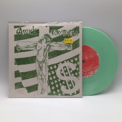 ASSUCK -NECRO SALVATION- 7 INCH (GREEN VINYL)
