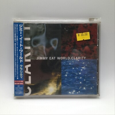 JIMMY EAT WORLD -CLARITY- CD (JAPAN PRESS)