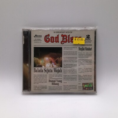 GODBLESS -18 GREATEST HITS OF- 2XCD