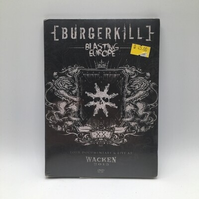 BURGERKILL -BLASTING EUROPE- DVD