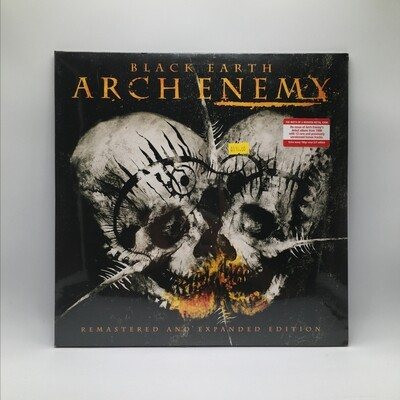 ARCH ENEMY -BLACK EARTH- 2XLP (180 GRAM VINYL)(REMASTERED & EXPANDED EDITION)