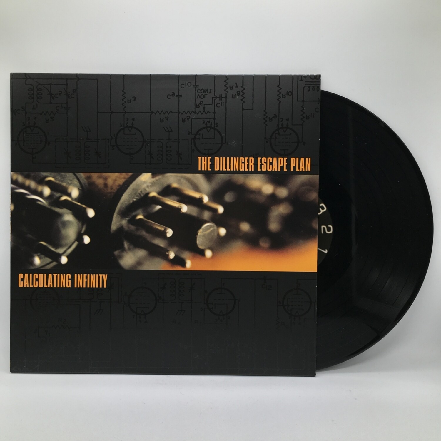 THE DILLINGER ESCAPE PLAN -CALCULATING INFINITY- LP
