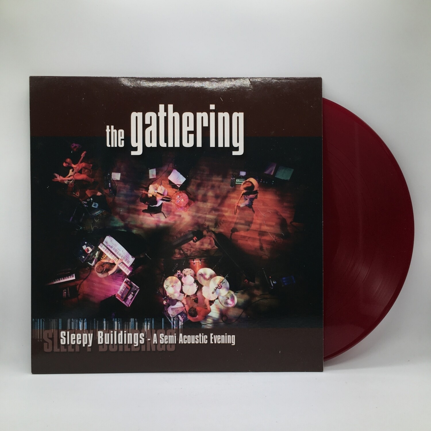 THE GATHERING -SLEEPING BUILDING: A SEMI ACOUSTIC EVENING- 2XLP (COLOR VINYL)