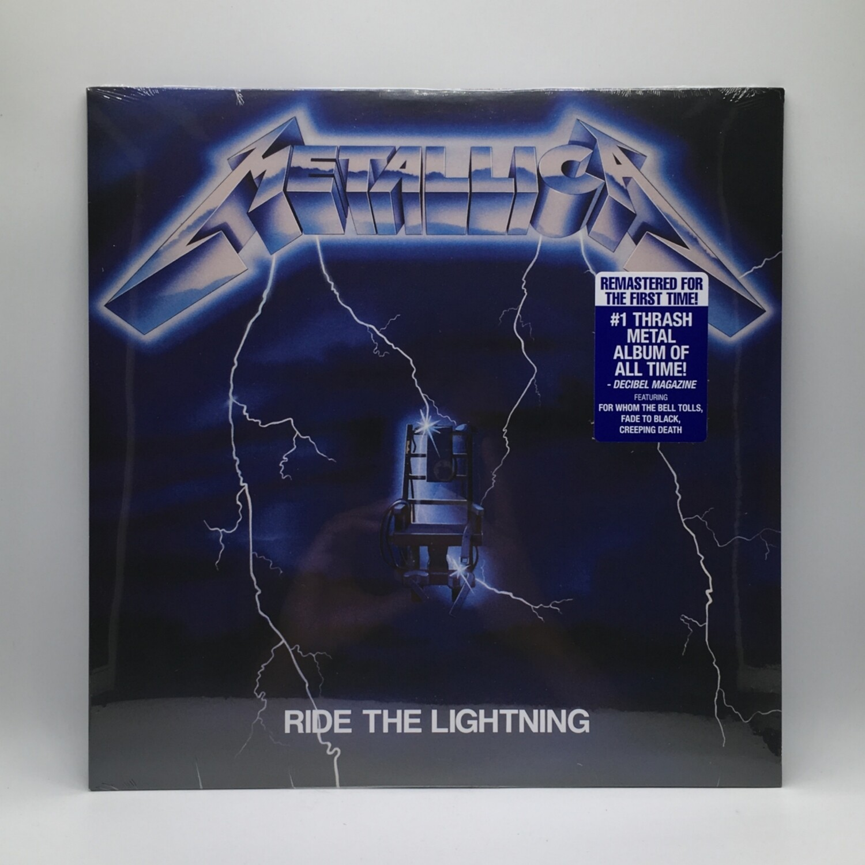 METALLICA -RIDE THE LIGHTNING- LP