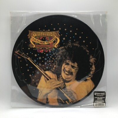 [USED] SANTANA -THE FILLMORE PERFORMANCE SAN FRANCISCO 1968- LP (PIC DISC)