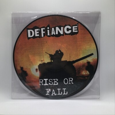 DEFIANCE -RISE OR FALL- LP (PIC DISC)