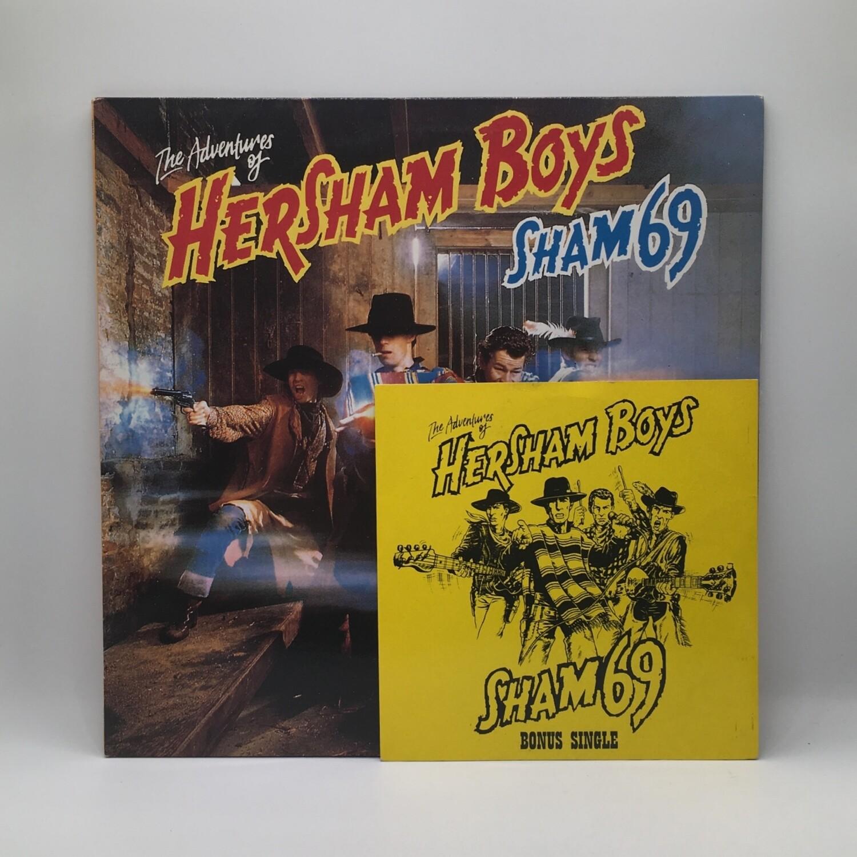 SHAM 69 -THE ADVENTURE OF HERSHAM BOYS- LP + 7 INCH