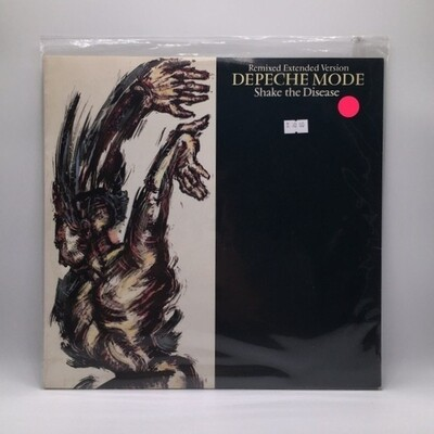 DEPECHE MODE -SHAKE THE DESEASE: REMIXED EXTENDED VERSION- 12 INCH EP