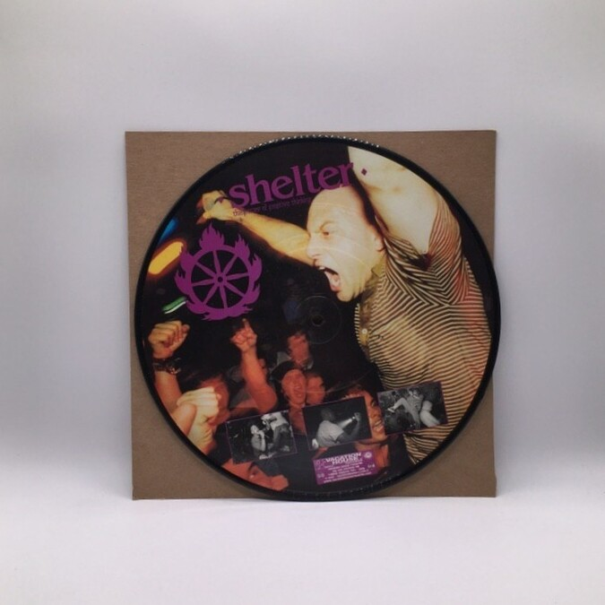SHELTER -THE POWER OF POSITIVE THINKING- 10 INCH EP (PIC DISC)