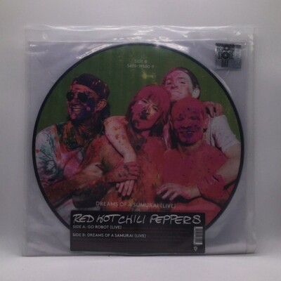RED HOT CHILI PEPPERS -LIVE- LP (PIC DISC)
