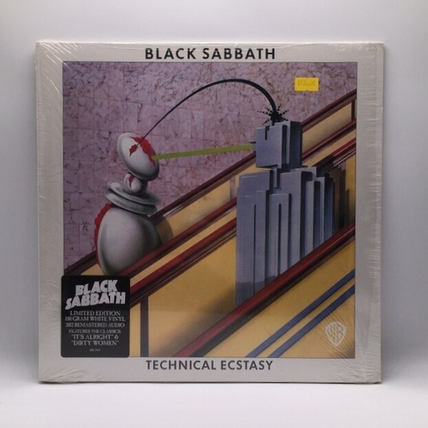 BLACK SABBATH -TECHNICAL ECSTACY- LP (180 GRAM WHITE VINYL)