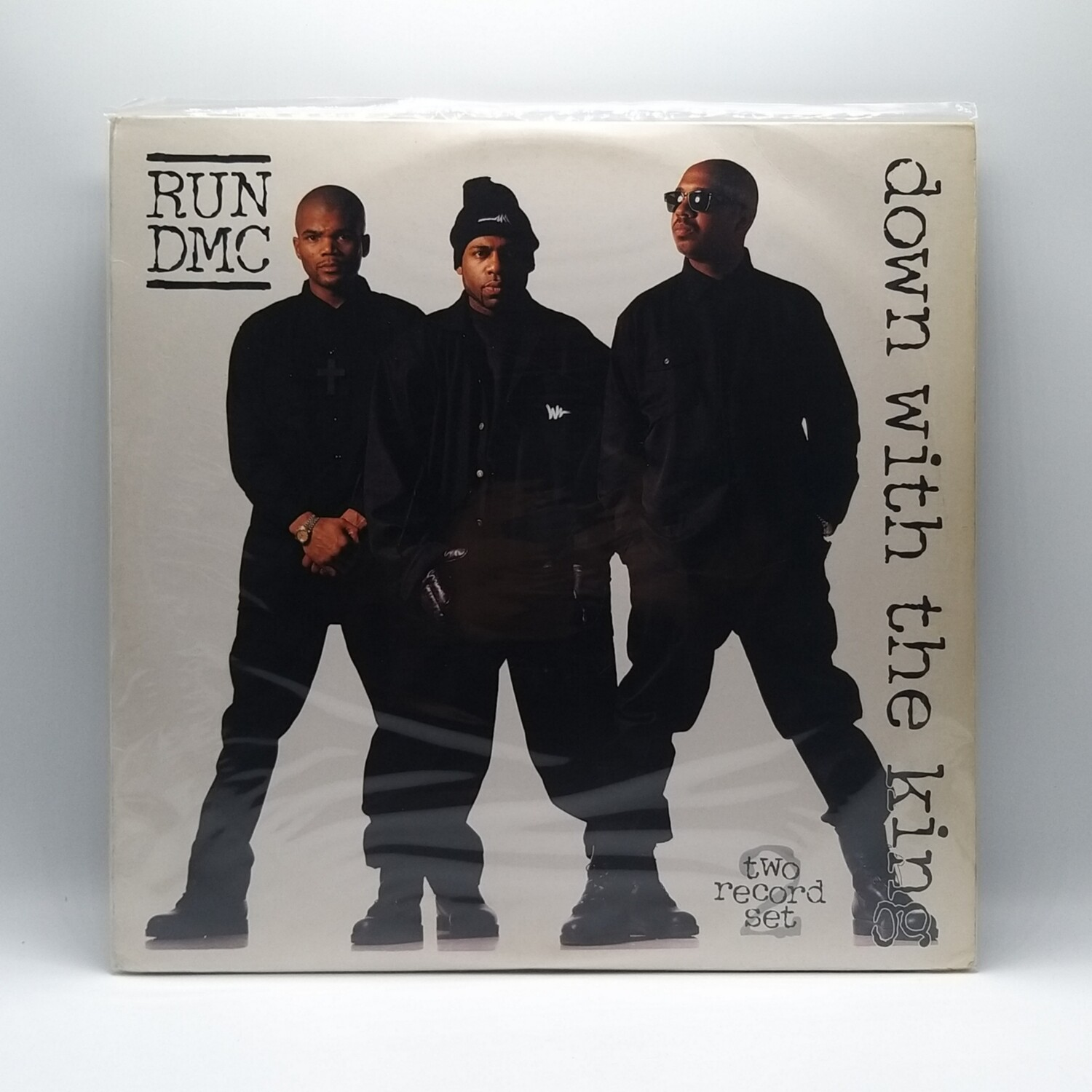 RUN DMC -DOWN WITH THE KING- 2XLP