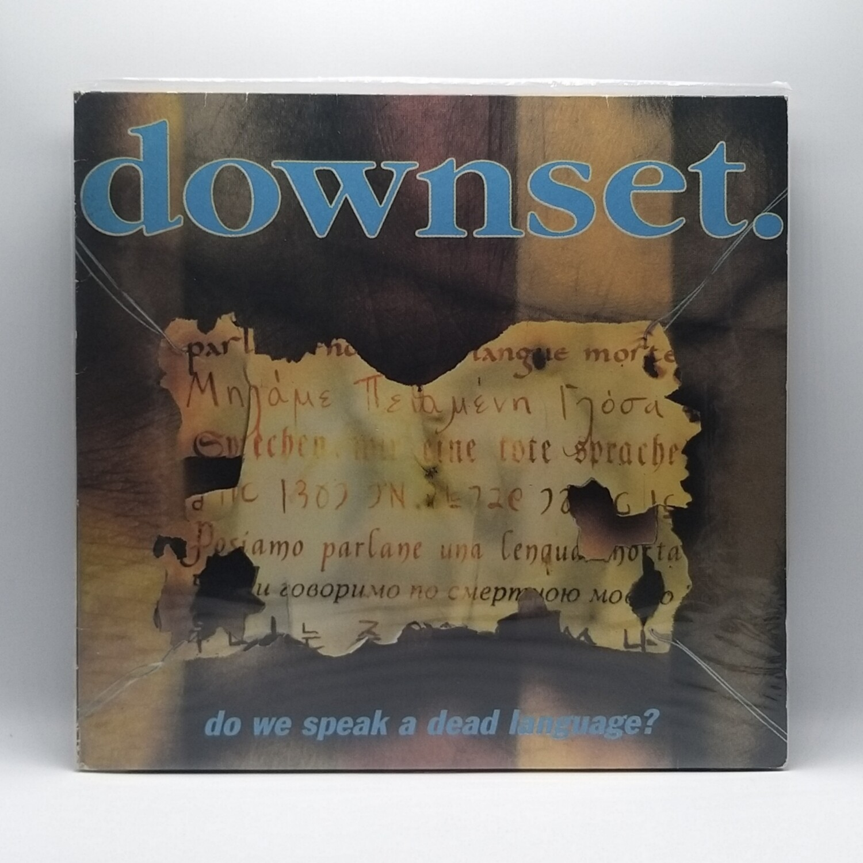 [USED] DOWNSET -DO WE SPEAK A DEAD LANGUAGE- LP