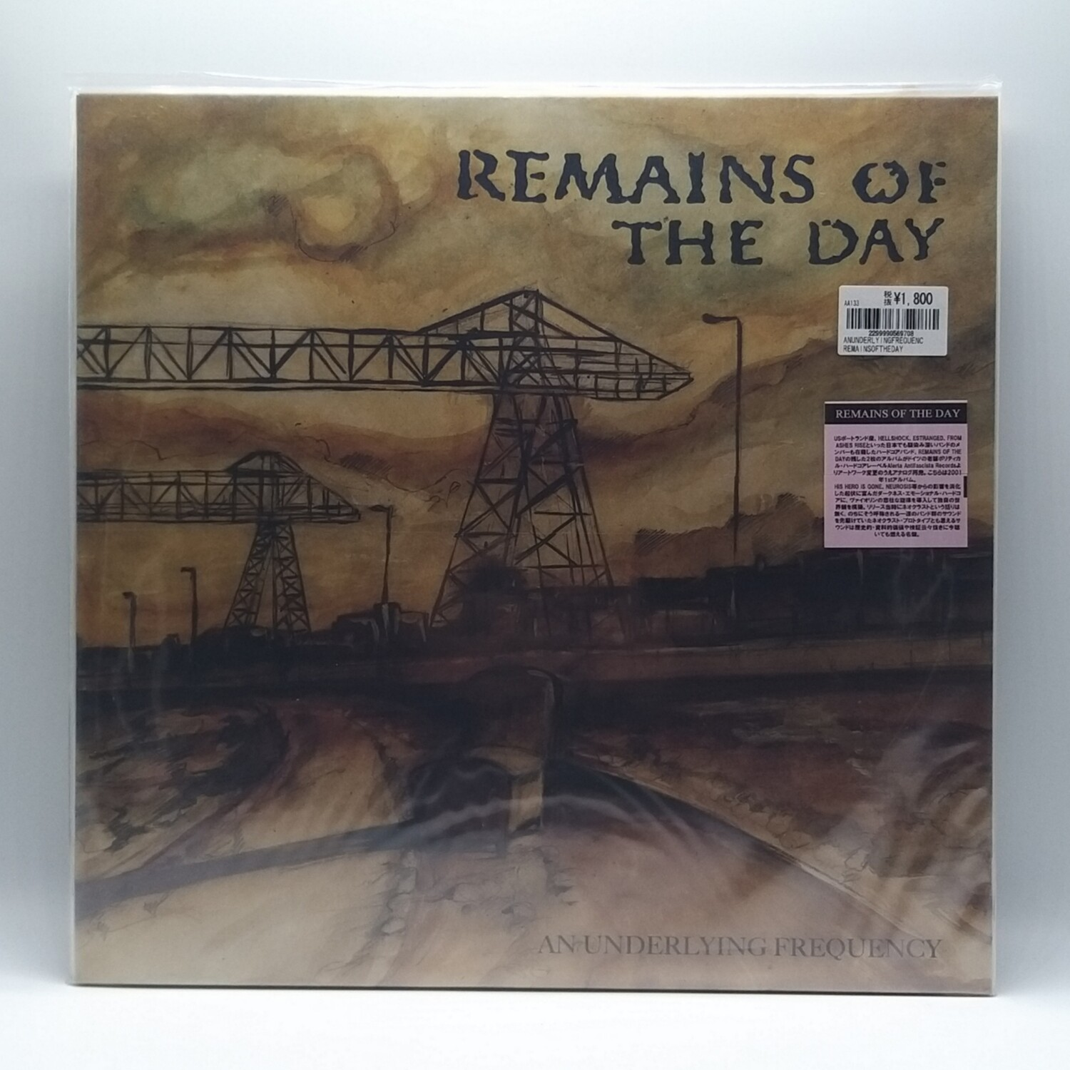 REMAINS OF THE DAY -AN UNDERLYING FREQUENCY- LP