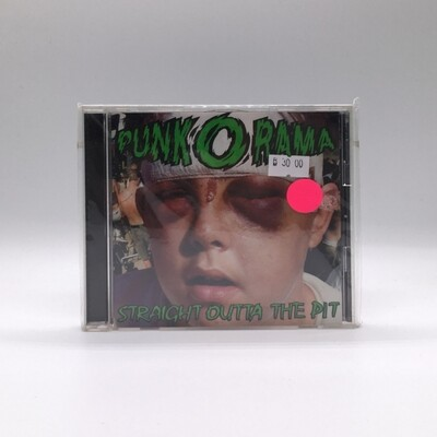V/A -PUNK O RAMA VOL. 4: STRAIGHT OUTTA THE PIT- CD