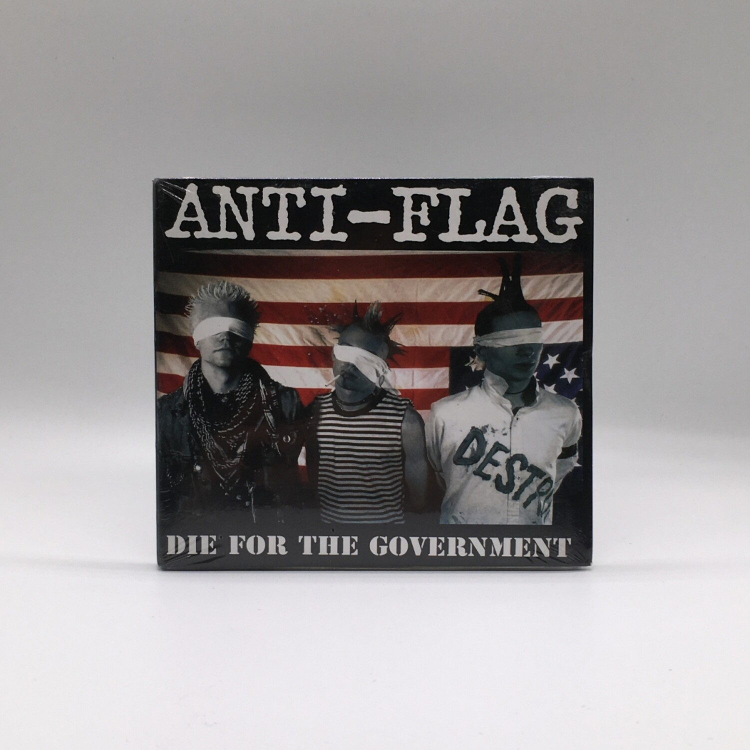 ANTI-FLAG -DIE FOR THE GOVERNMENT- CD