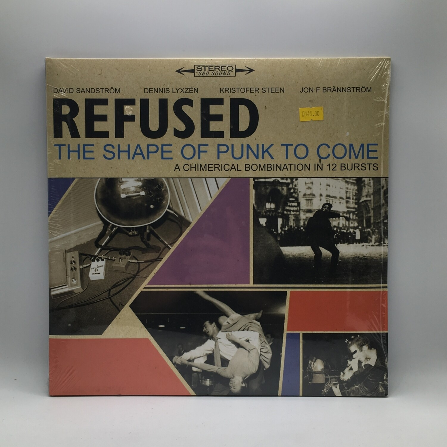REFUSED -THE SHAPE OF PUNK TO COME- 2XLP (180 GRAM VINYL)