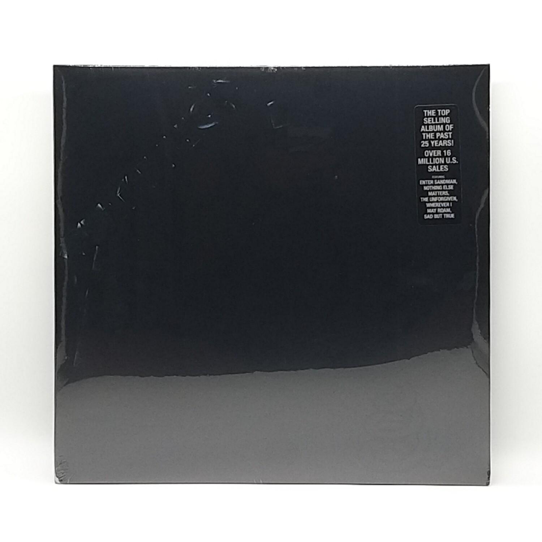 METALLICA -S/T:BLACK ALBUM- 2XLP
