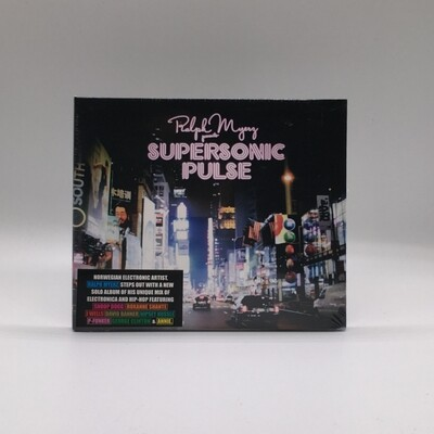 RALPH MYERS -SUPERSONIC PULSE- CD
