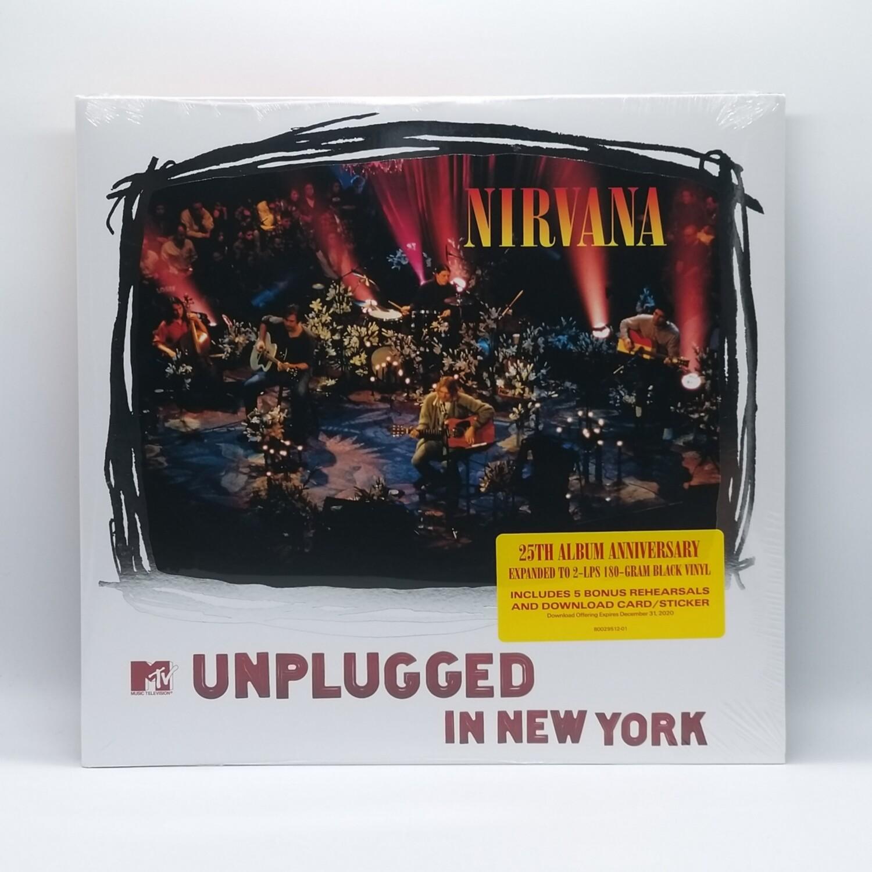 NIRVANA -MTV UNPLUGGED IN NEW YORK: 25TH ANNIVERSARY- 2XLP (180 GRAM VINYL)