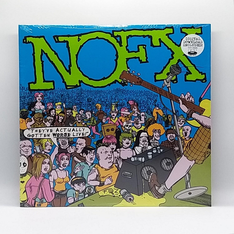 NOFX -THEYVE ACTUALLY GOTTEN WORSE LIVE- 2XLP