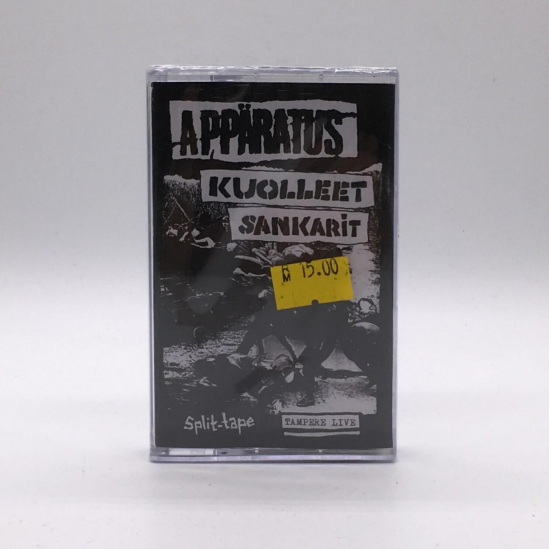 APARRATUS / KUOLLEET SANKARIT -TAMPERE LIVE: SPLIT- CASSETTE