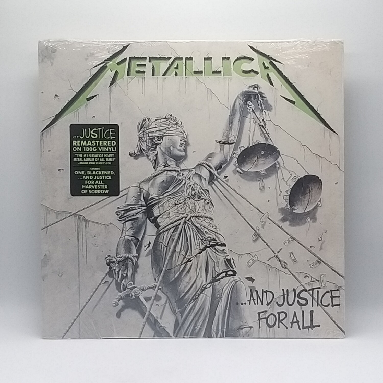 METALLICA -...AND JUSTICE FOR ALL- 2XLP  (180 GRAM VINYL)