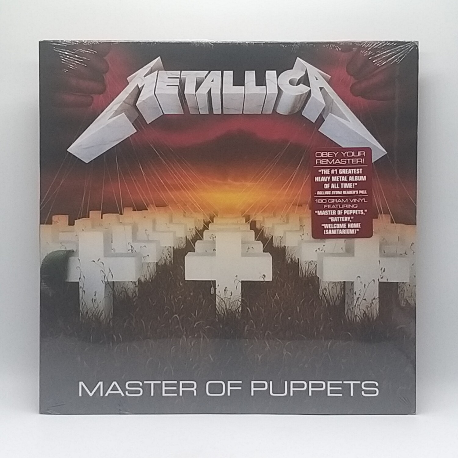 METALLICA -MASTER OF PUPPETS- LP