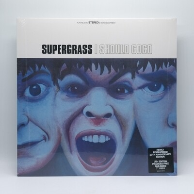 SUPERGRASS -I SHOULD COCO- LP (180 GRAM VINYL) + 7 INCH