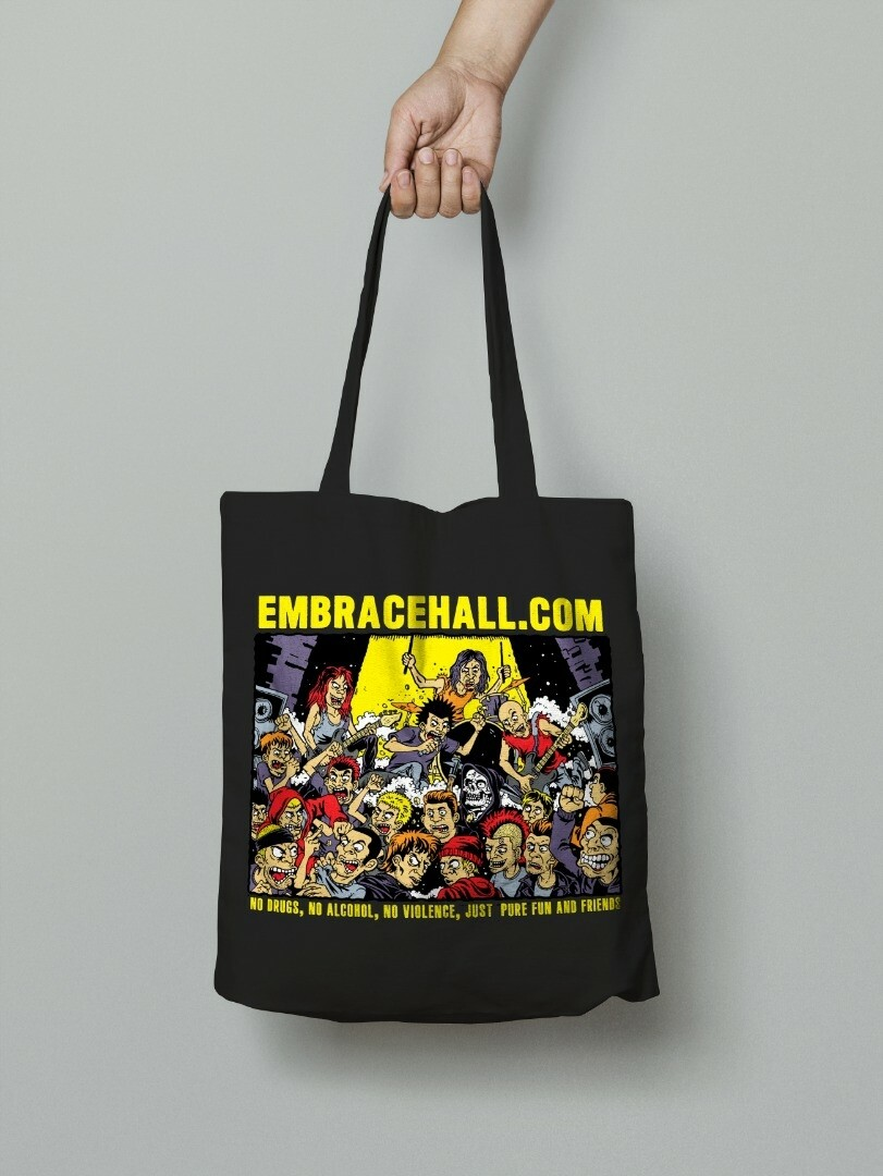 EMBRACEHALL DOT COM TOTEBAG