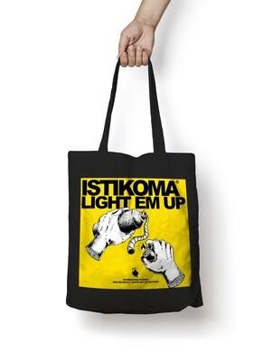 ISTIKOMA -LIGHT EM UP- TOTEBAG