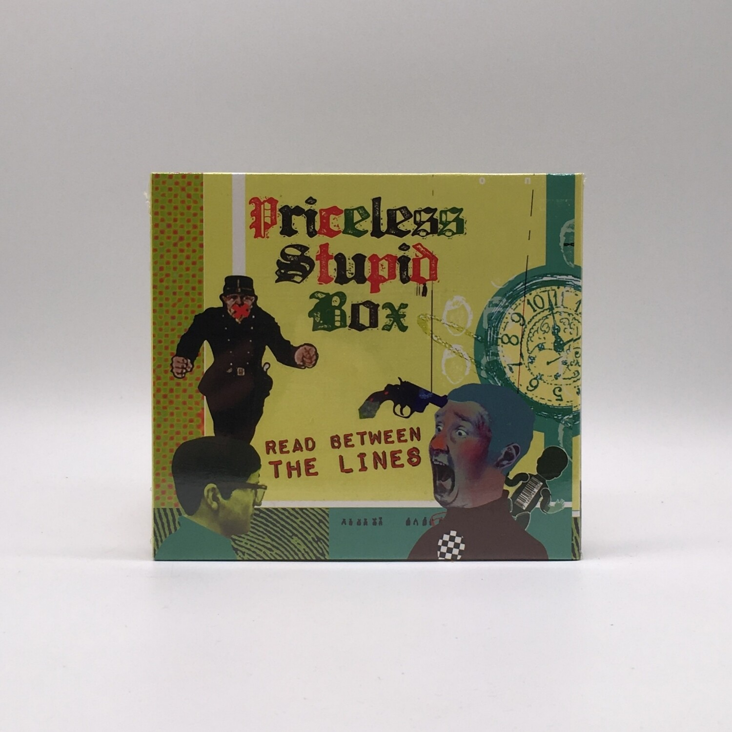 PRICELESS STUPID BOX -READ BETWEEN THE LINES- CD
