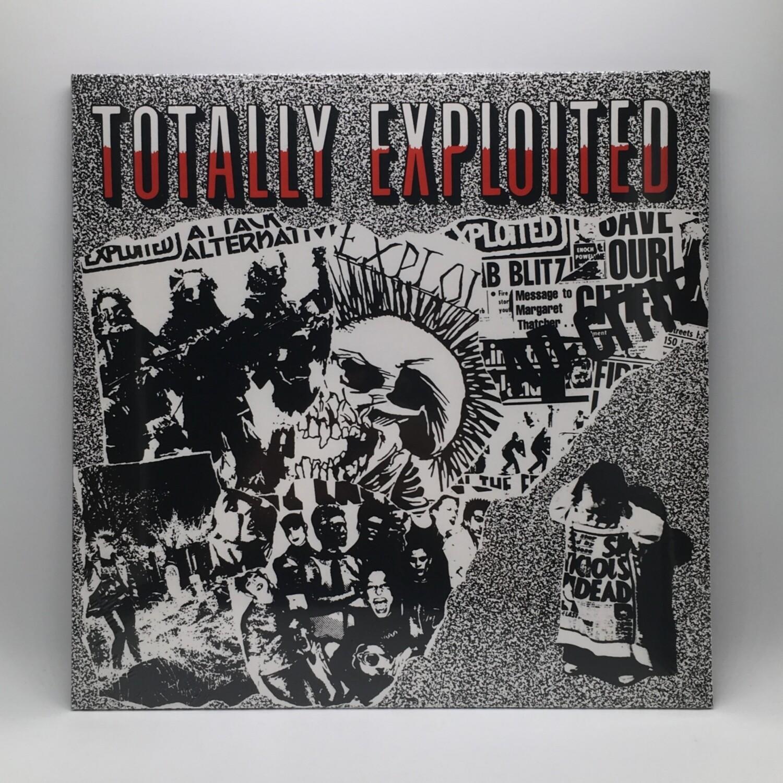 THE EXPLOITED -TOTALLY EXPLOITED- LP