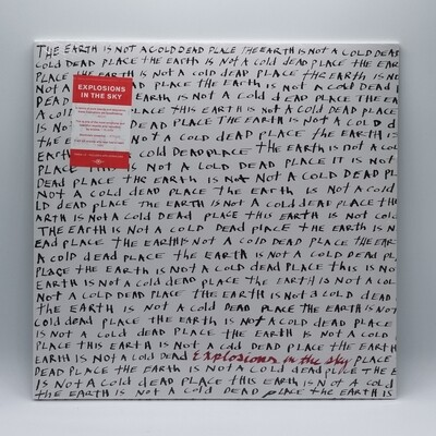 EXPLOSIONS IN THE SKY -EARTH IS NOT A COLD DEAD PLACE- 2XLP