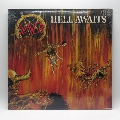 SLAYER -HELL AWAITS- LP (YELLOW VINYL)