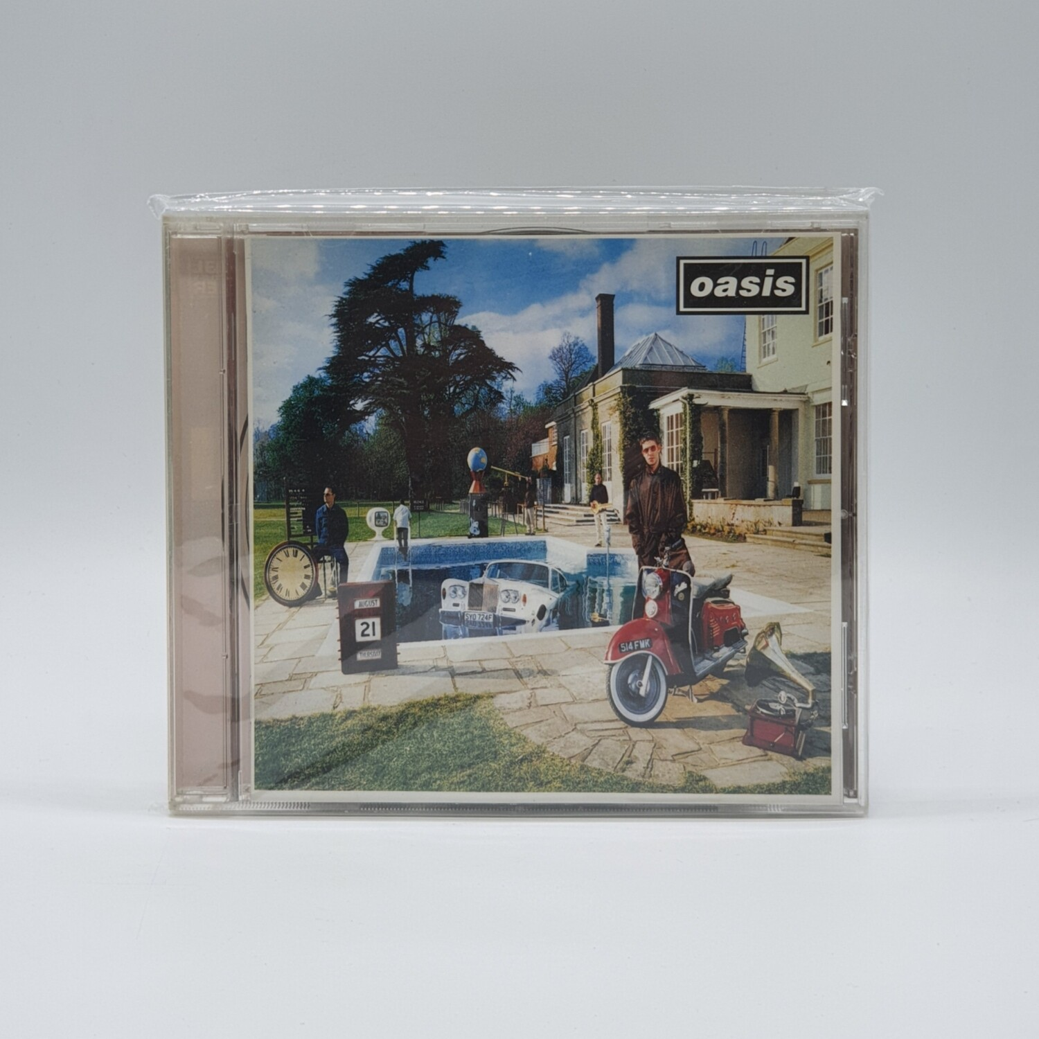 OASIS -BE HERE NOW- CD