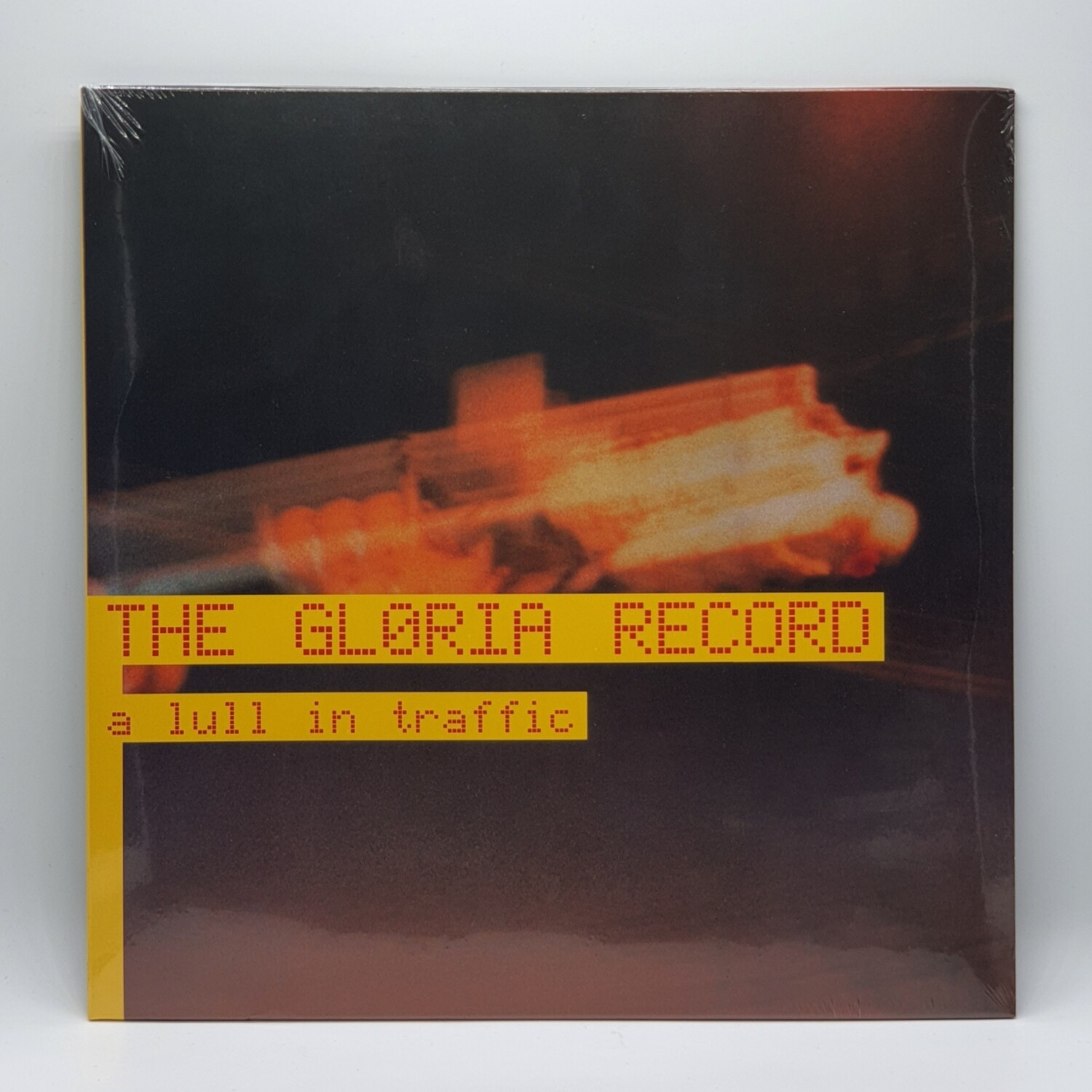 THE GLORIA RECORD -A LULL IN TRAFFIC- 12 INCH VINYL (YELLOW  TRANSPARENT VINYL)