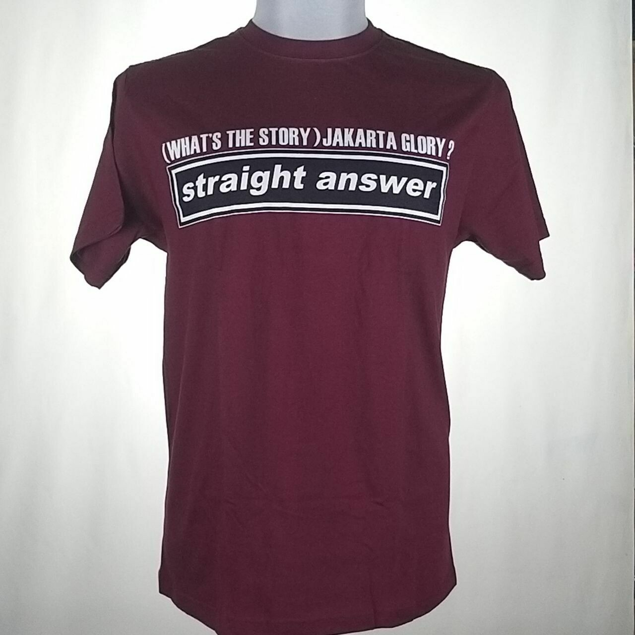STRAIGHT ANSWER -(WHATS THE STORY)JAKARTA GLORY?- (MAROON)