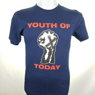YOUTH OF TODAY -POSITIVE OUTLOOK- (NAVY BLUE)