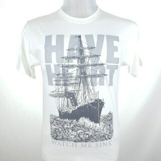 HAVE HEART -SINKING SHIP- (WHITE)
