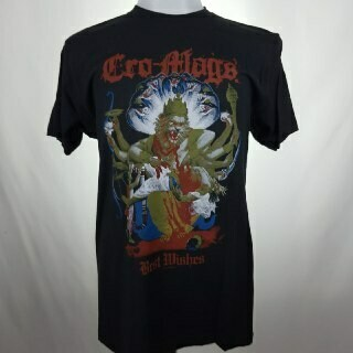 CRO-MAGS -BEST WISHES- (BLACK)