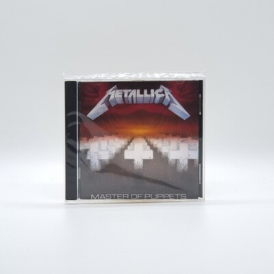 METALLICA -MASTER OF PUPPETS- CD