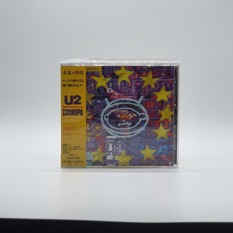 U2 -ZOOROPA- CD (JAPAN PRESS)
