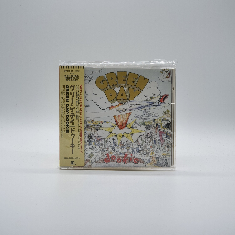 GREEN DAY -DOOKIE- CD (JAPAN PRESS)